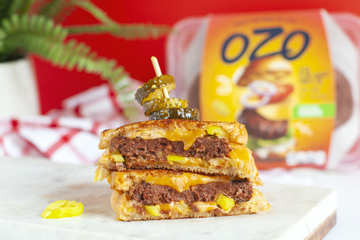 Grilled Cheese Burger