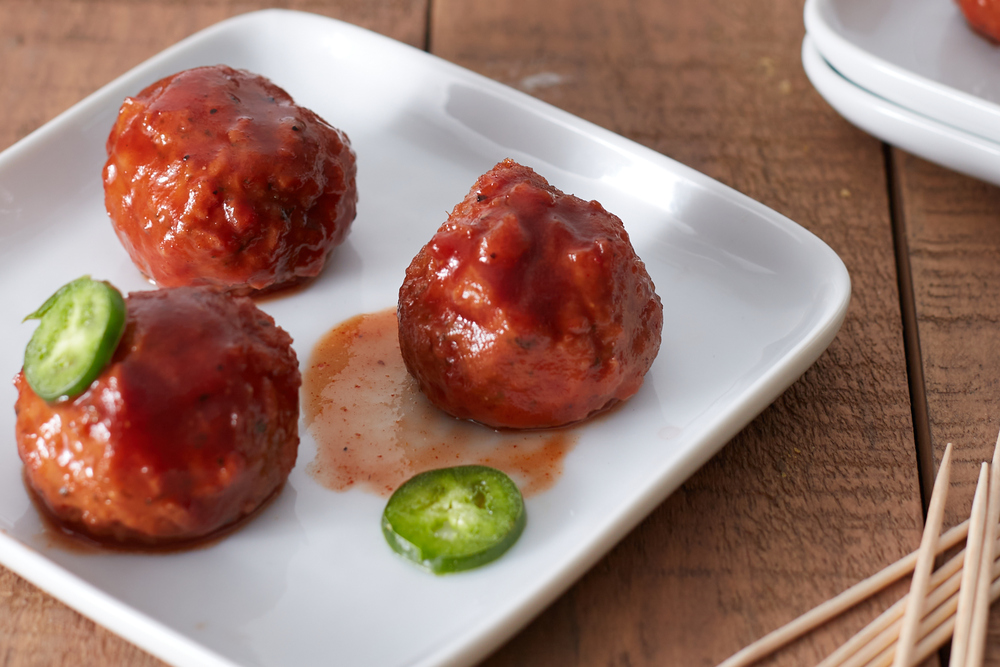Slow Cooker Grape Jelly Meatballs
