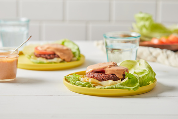 Loaded Low-Carb Burgers